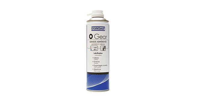 Adhesive grease spray