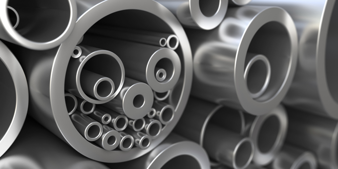 Stainless steel and Inconel